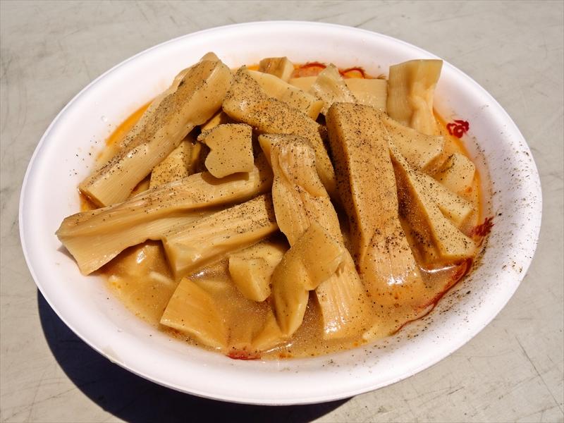 【最強ラーメンFes,】世界最強のメンマラーメンを食べてみた結果@『駿河拉麺會』
