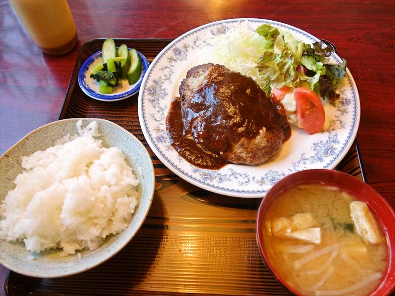 厚木『梅昇』ドライブインの美味しいハンバーグ&カツカレー@国道129