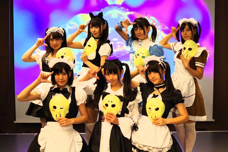 立川『アレアレア2』の仮面女子候補生無料ライブに行ってみたで御座る@メイド服最高!