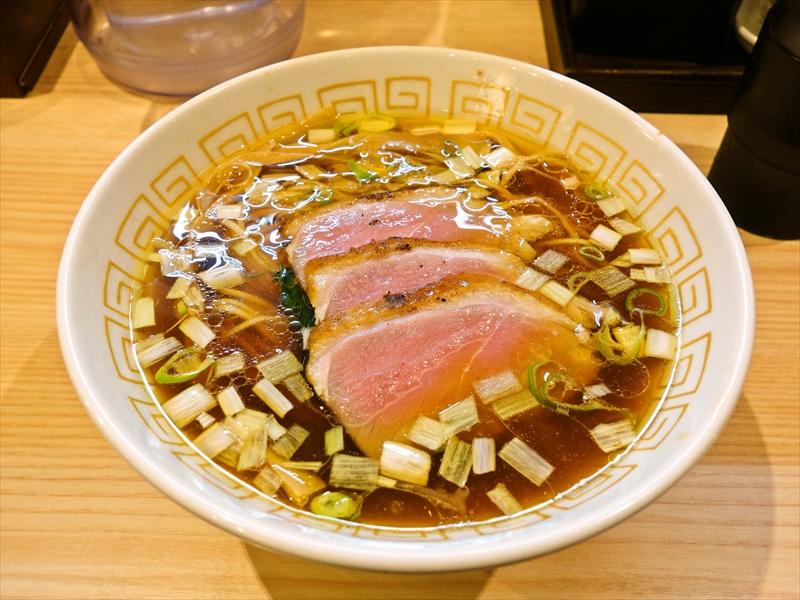淵野辺『中村麺三郎商店』で限定ラーメンとか?@燻し鴨肉の醤油らぁ麺(鴨肉3枚入り)