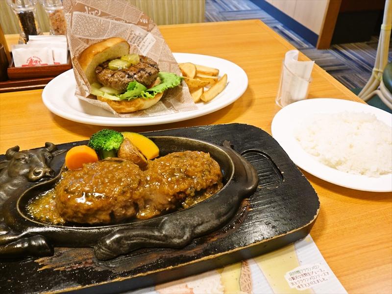 静岡県『さわやか』げんこつハンバーグ&炭焼きバーガー@『炭焼きレストランさわやか』