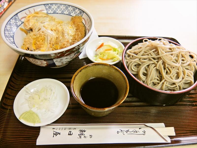 秋葉原『朝日屋』カツ丼と蕎麦のセットがオススメで御座る@創業明治23年