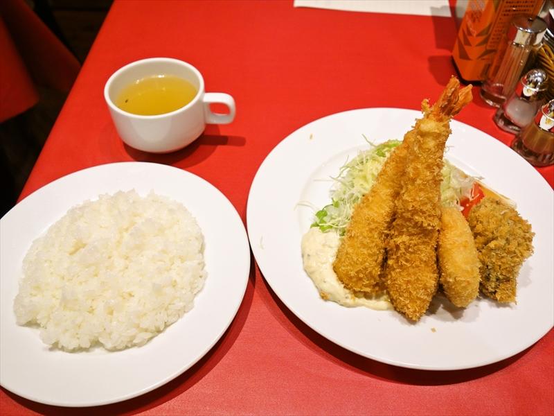 神田『七條』ミックスフライ的なランチが美味しい件の是非@レストラン七条