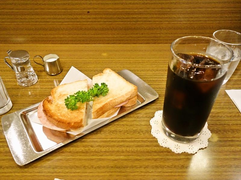 町田『珈琲舎ロッセ』昔ながらの純喫茶でトーストをエンジョイしてみた