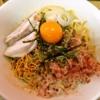 """【油そば】町田で""""ジャンク系混ぜそば""""を欲した時にどうでしょう?@『noodle SPUNKY』"""