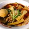 【最強ラーメンFes,】圧倒的な肉感と生姜&生タマネギがキテる醤油ラーメン@『肉そば けいすけ』