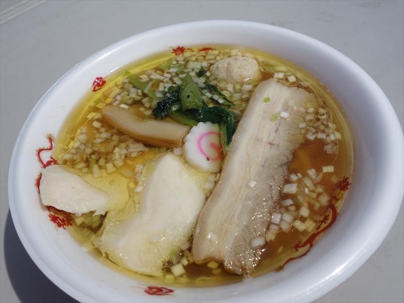 """【麺屋棣鄂】青森シャモロック&貝出汁スープに""""サンダー麺""""だと?@『若武者』"""
