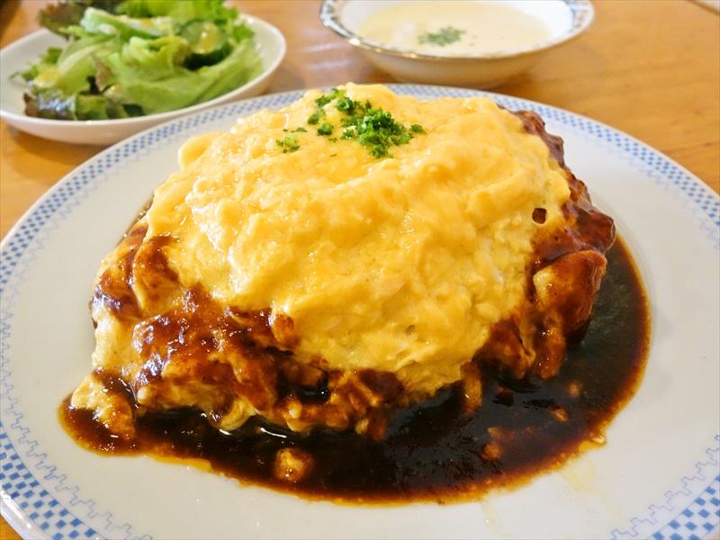平塚『洋食エイト』のオムライスが超美味しかった件@平塚駅前ランチ