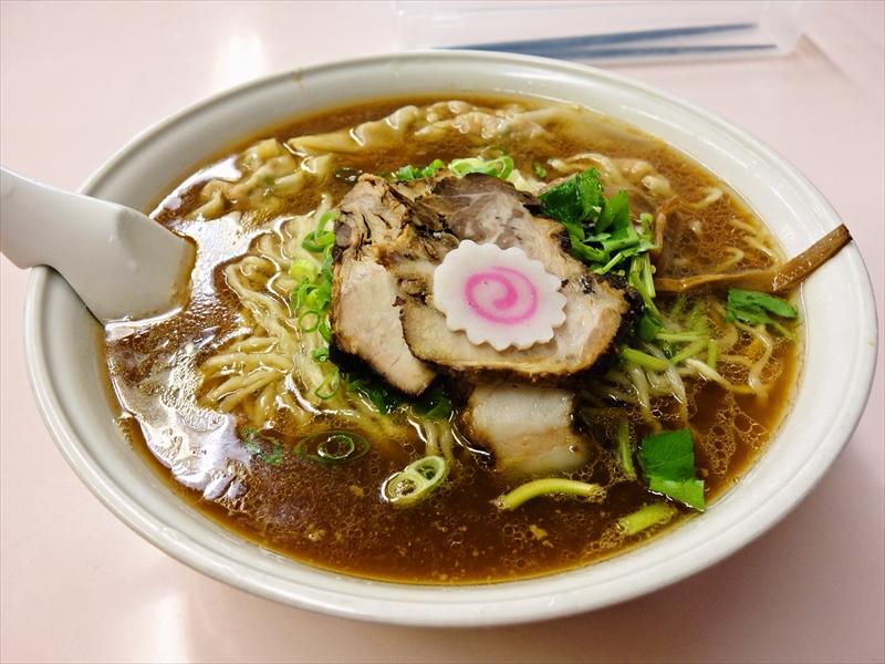 『国味ラーメン』小田原系ラーメンの正統派ワンタン麺を食す!@湯河原