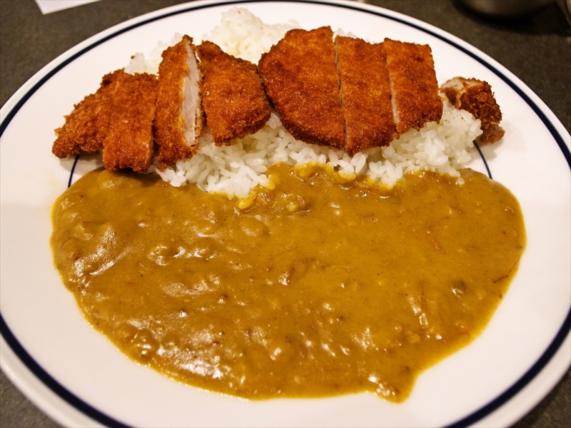 新梅田食堂街『マルマン』でカツカレーとビール的な何か@レストラン・マルマン