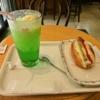 秋葉原『ロイズ』でクリームソーダ&チーズドッグを食す@ROYS