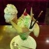 新宿『珈琲西武』でメロンパフェを食べて来ました@気温35度ですし