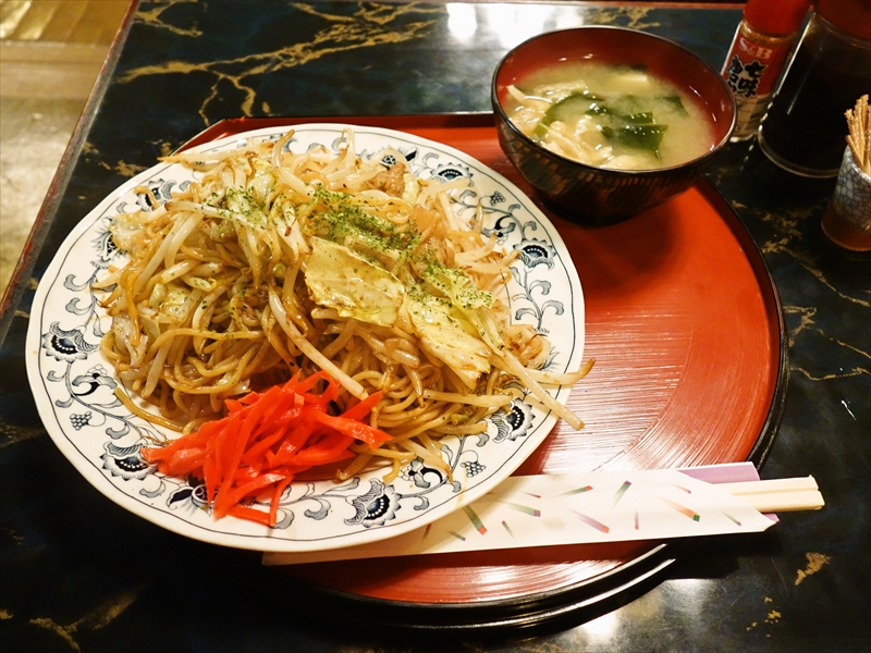 """神田『てまり』で幻の""""焼きそば""""を食べて来ました@600円"""