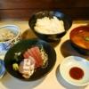 『お食事処あい津』刺身定食の完成度が高い件の是非@神田ランチ