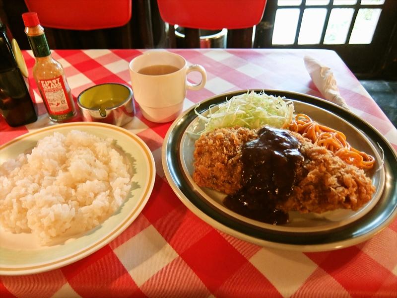 """『キッチンビーバー』で""""ビーバー風カツ""""を食べて来ました@神田紺屋町"""