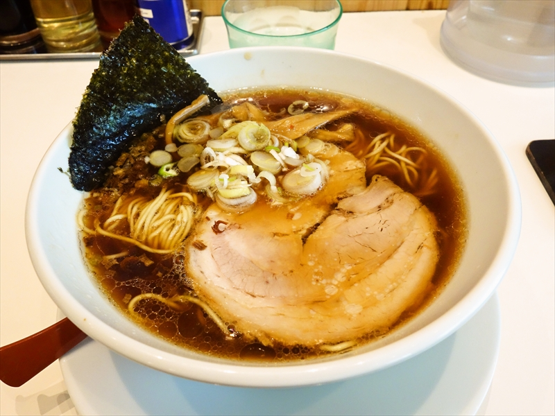 """『吉凜』で醤油ラーメン的な""""醤油らぁ麺""""を食べて来ました@相模原"""