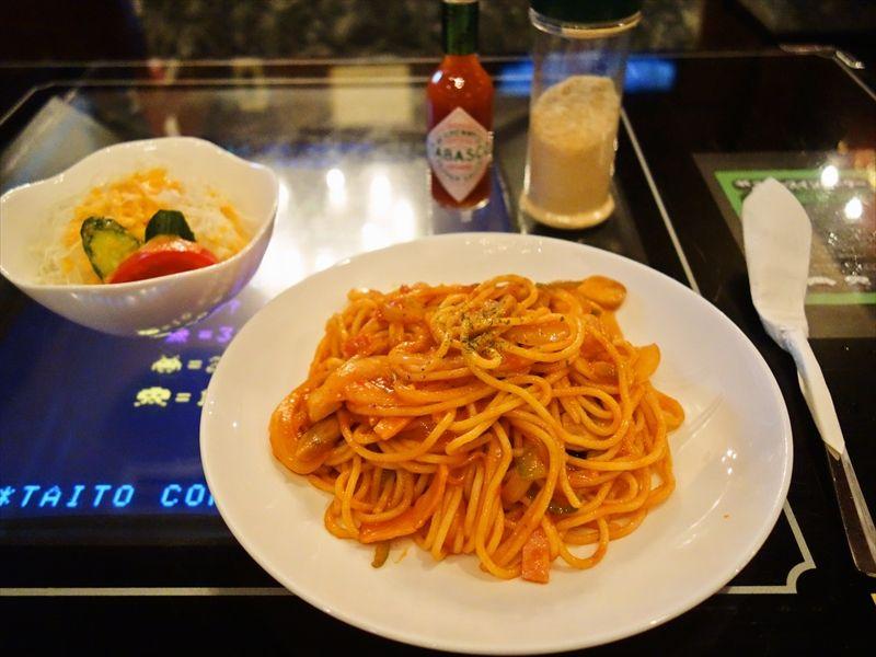 『ミカド』テーブル筐体で食べるナポリタンこそ至高である可能性!@錦糸町