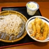 『信州屋』の上海老天丼と蕎麦のセットが潔い件の是非@渋谷店