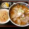"""『もとき食堂』東根ラーメンの血統を継ぐ""""チャーシュー麺""""とか@山形県東根市"""