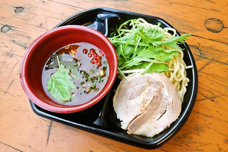 大つけ麺博大感謝祭『オマール海老とカラスミとアンコウのどぶ汁濃厚つけ麺』@福たけ