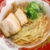 大つけ麺博大感謝祭『手もみ醤油らーめん』の手揉み感とスープの美味しさ@麺や七彩