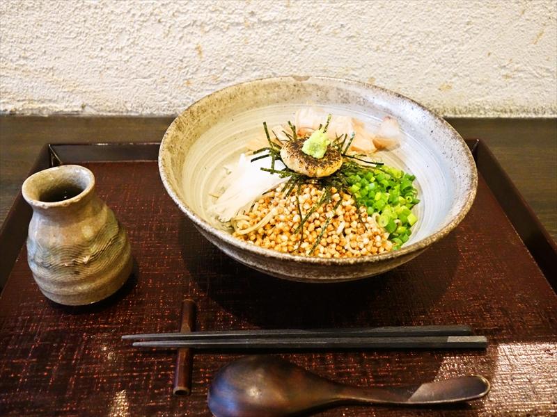 """蕎麦『粉練』(こねり)で""""ぶっかけ""""を食べてみました@町田ランチ"""