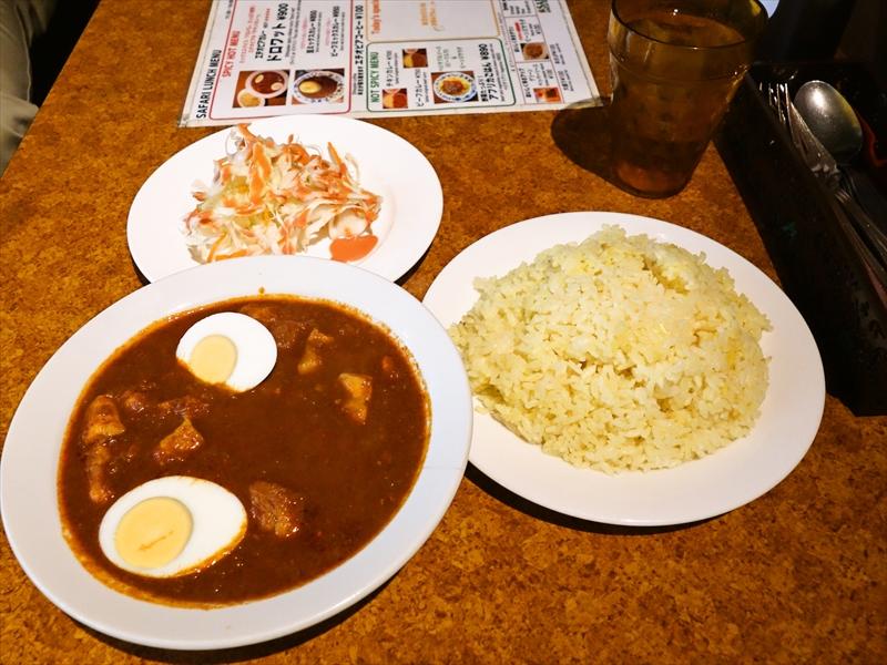『サファリ』のドロワットって激辛だけど美味しいよね?@赤坂でカレー的な何か
