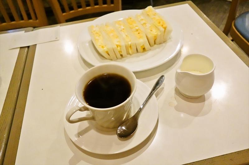 レトロな喫茶店『カフェ・ド・レオ』でタマゴサンドを食べた日@浅草橋