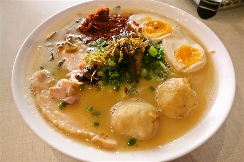 『鶏そば七星』タイで食べる鶏白湯ラーメンって、どんな感じ?@シラチャ