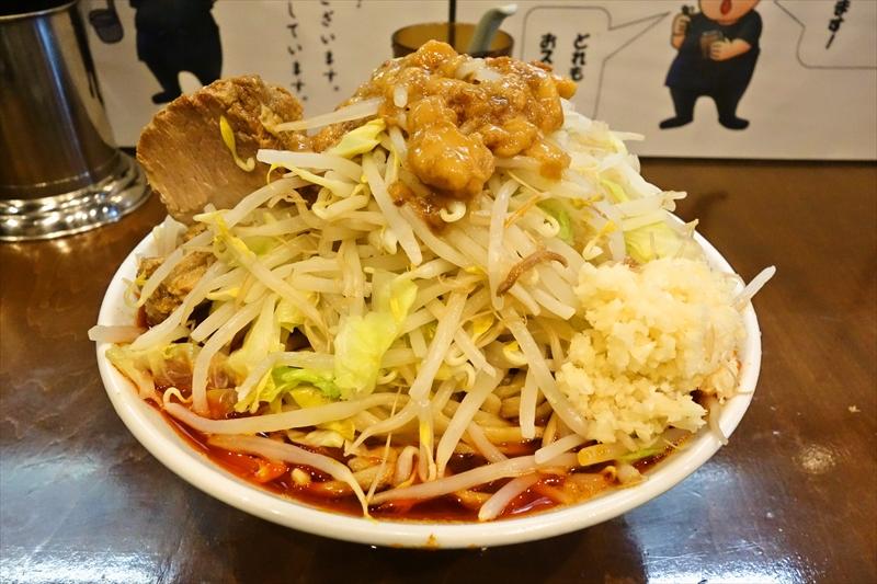 """【麺屋歩夢】""""辛い小豚ラーメン""""を食べて来たので御報告【相模原】"""