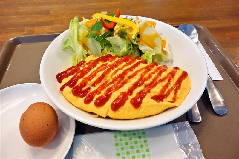 『スウィートエッグス』オムライスを食べつつ110円のシュークリームを買う日@相模原