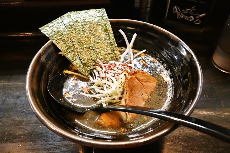 """麺屋『奨』で""""黒らーめん""""的なラーメンを食べてみたで御座る@小田急相模原"""