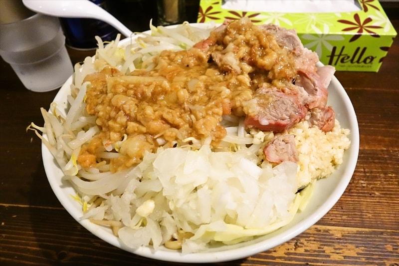 """【デカ盛り】『麺でる』油そば的な""""特製まぜ麺""""を食べて来たので御報告@相模原【ラーメン】"""