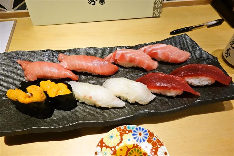 鮨処『虎秀』寿司食べ放題2000円と言う神サービスを体験して来た@渋谷