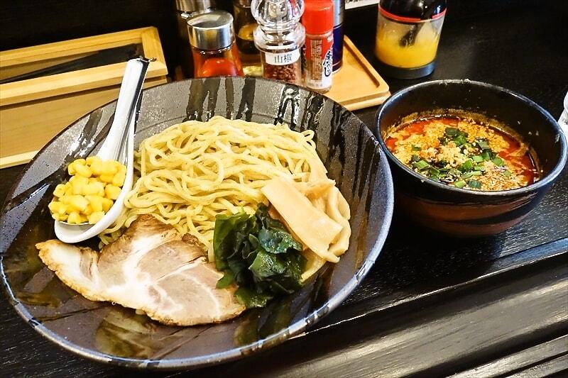 """移転した『悠河らーめん』で""""悠河スペシャルつけ麺""""を食す!@町田"""
