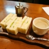 『いづみ』でサンドイッチセット的なモーニングを頂きました@日本橋