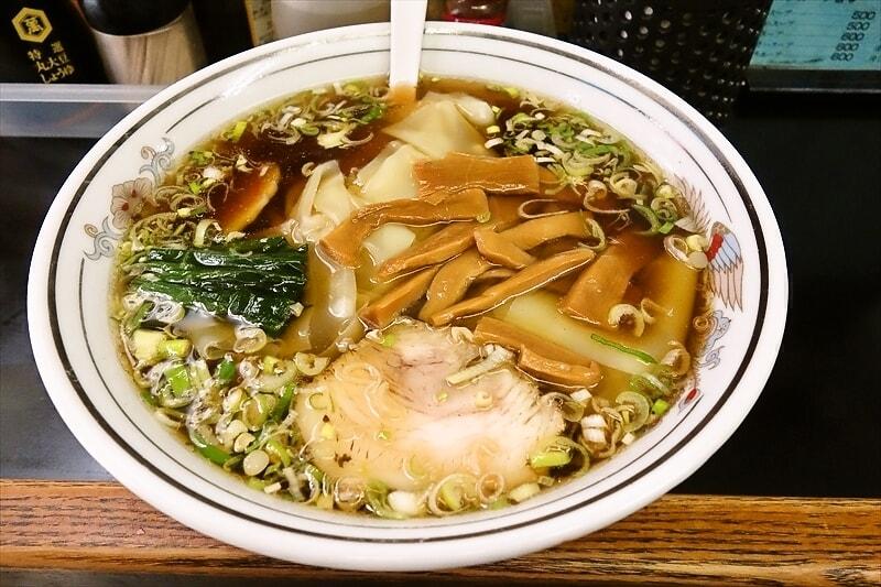『若竹』でチャーハンではなくワンタンメンを食べると言う選択肢@相模原