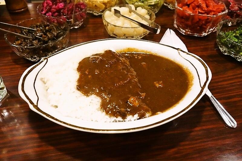 【ランチ】神田でカレー食べるなら『インデラ』こそ至高!【漬け物祭り】