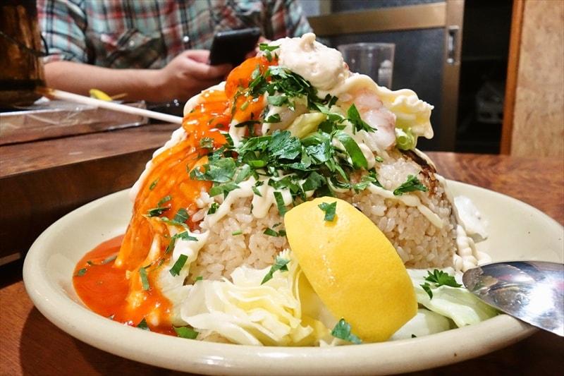 【デカ盛り】チャーハン(炒飯)と焼き飯(ヤキメシ)の違いって何?みたいな?【海老】