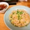 チャイニーズキッチン『エイト・フォー』でチャーシュー炒飯を食べる夏@相模原