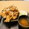 """『ごはん部』で""""鶏から揚げ丼""""を食べてみました@淵野辺"""