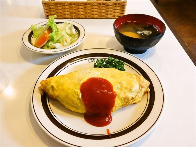 『キッチンいまい』ベテランシェフが作るオムライスの尊さ@町田ランチ