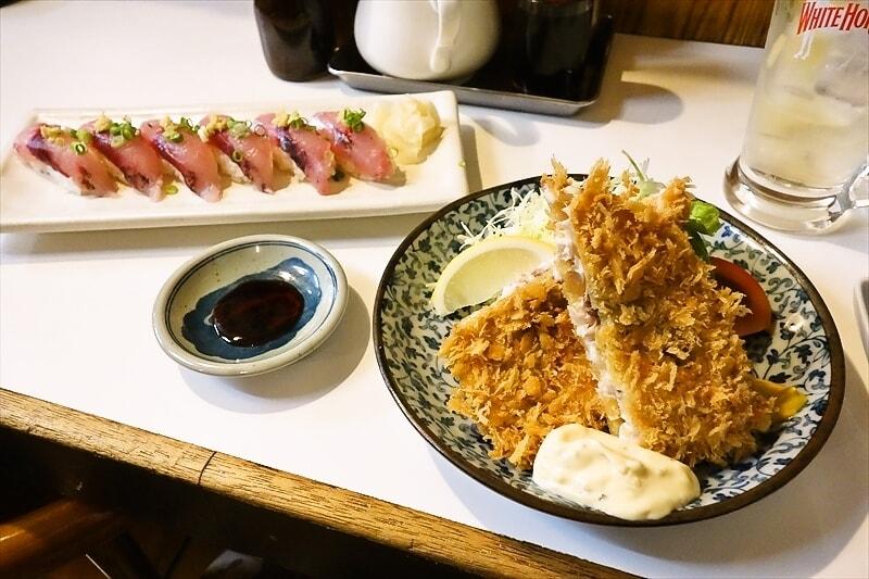 『稲穂』釣りアジでアジフライとか握り寿司とか素敵じゃない?@町田
