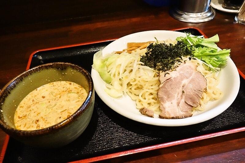 """『ラーメンおやじ』で""""冷しつけ麺""""を食べてみたら美味しかった件@町田"""