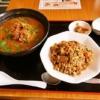 『林華飯店』ラーメンと半チャーハンのセットランチが鬼コスパ!@町田
