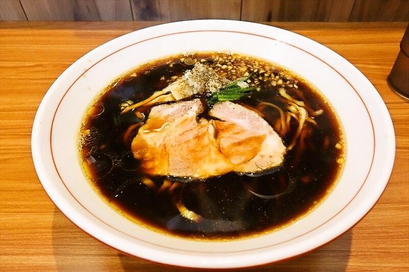 """『ら~麺 安至』で""""漆黒""""的なラーメンを食べて来たので御報告@相模原"""