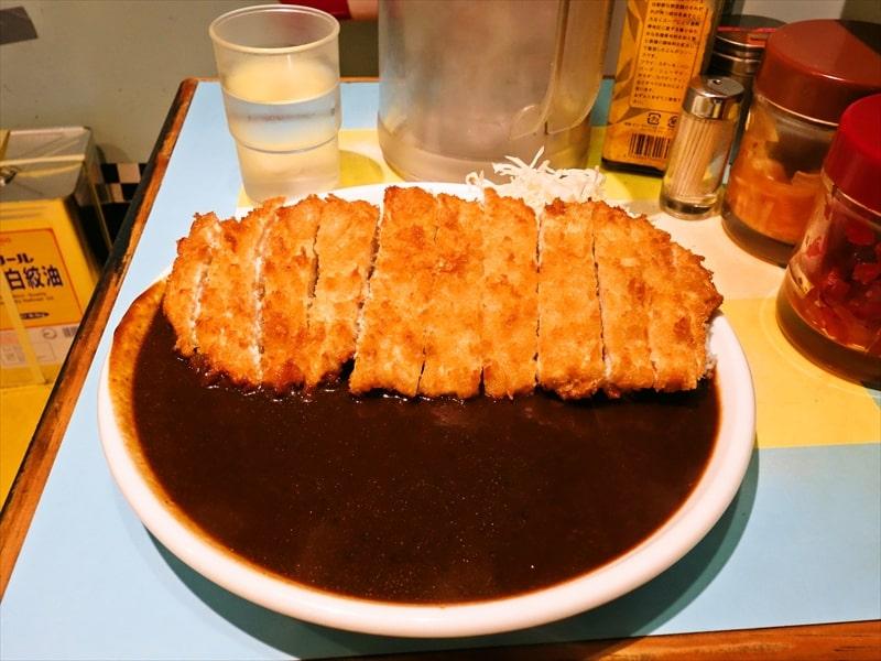 『カレー屋ジョニー』でビックリチキンカツカレーの大盛りを食べてみた@御茶ノ水