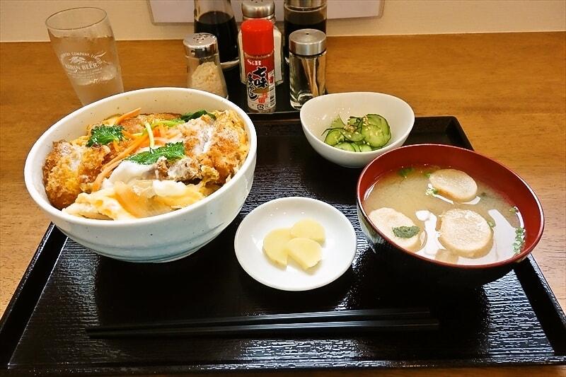『かもいけ食堂』カツ丼700円がイイ感じなので御報告@相模原