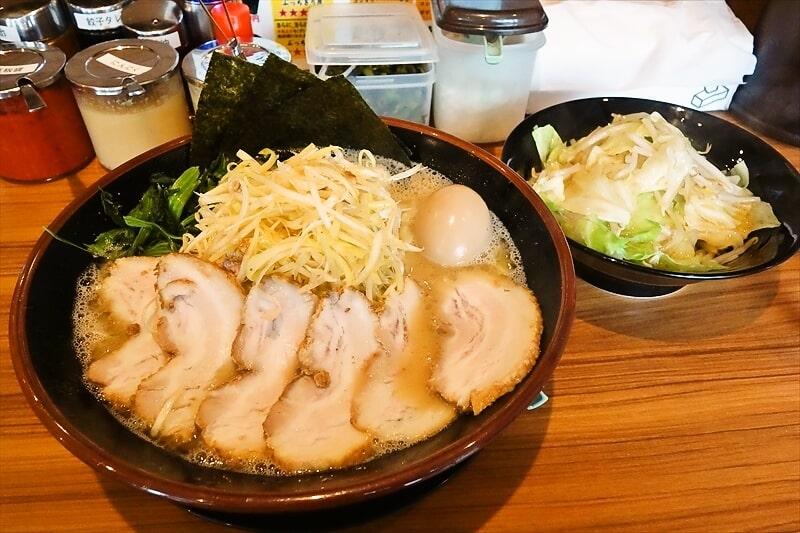 """『町田商店マックス』で""""塩ネギチャーシューメン特盛り""""を食す!@町田"""