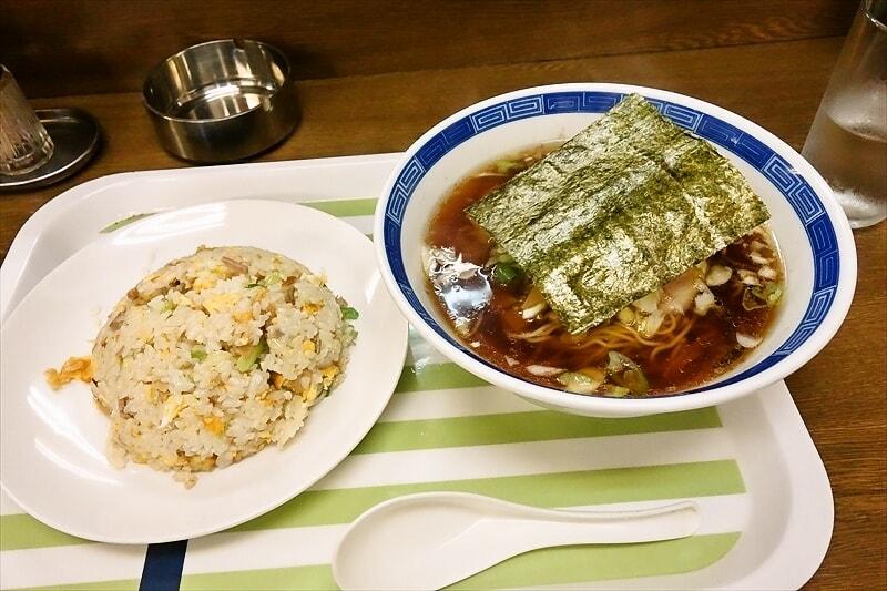 【生姜】『ラーメンハウス』ラーメン・チャーハン的なセットを食べて来ました@相模原
